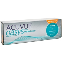 Acuvue Oasys 1-Day Hydraluxe for Astigmatism